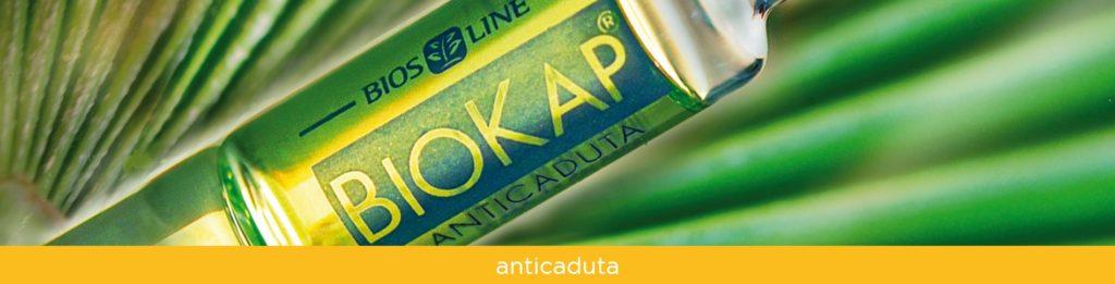 BioKap anticaduta, ligne de soins et compléments alimentaires pour renforcer les cheveux