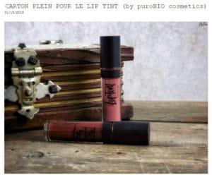 lip tint purobio cosmetics almabio
