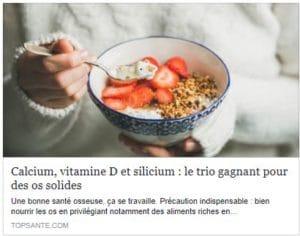 silicium sante osseuse alma bio