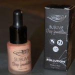 fond de teint sublime drop purobio cosmetics