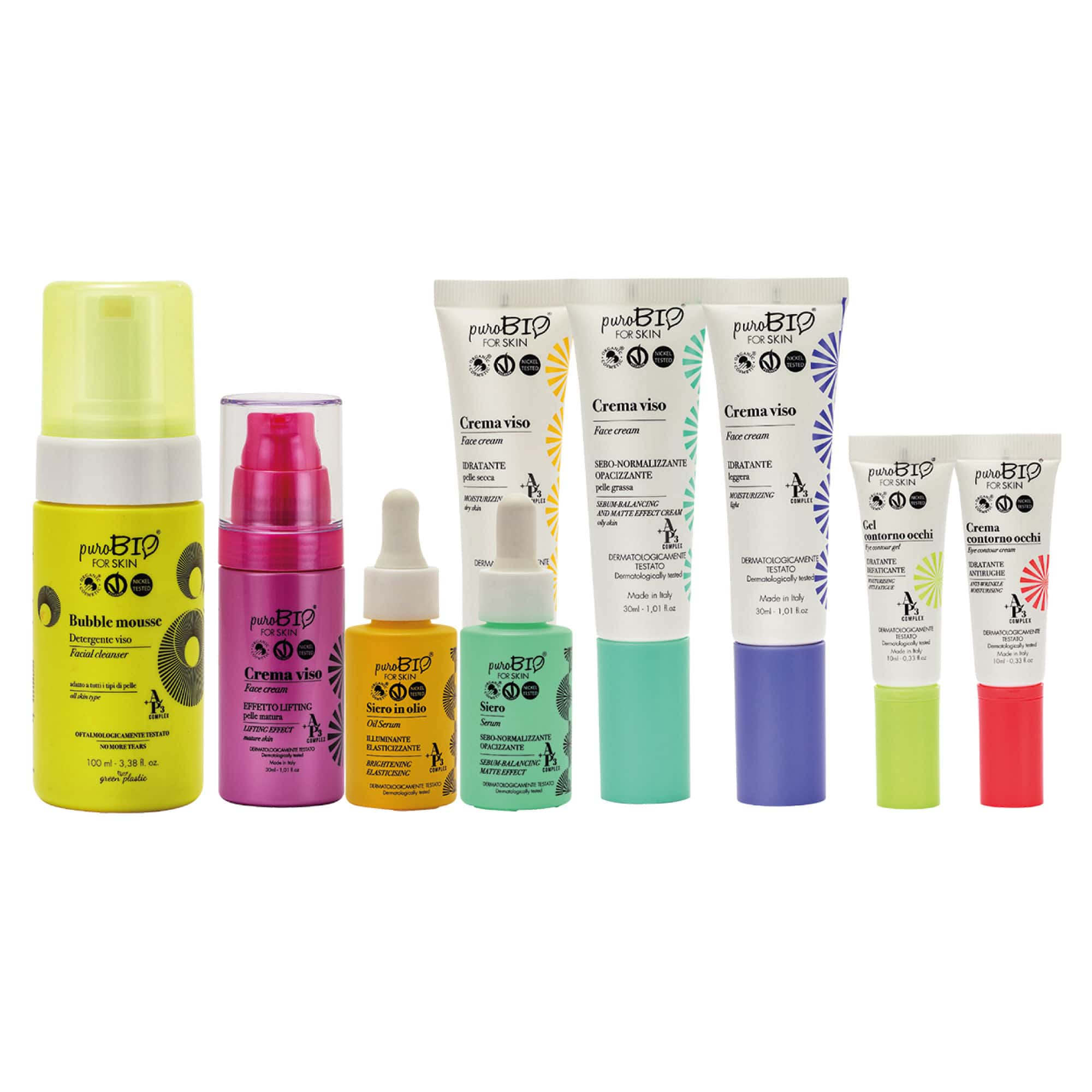 Présentation Gamme soin PuroBIO for skin