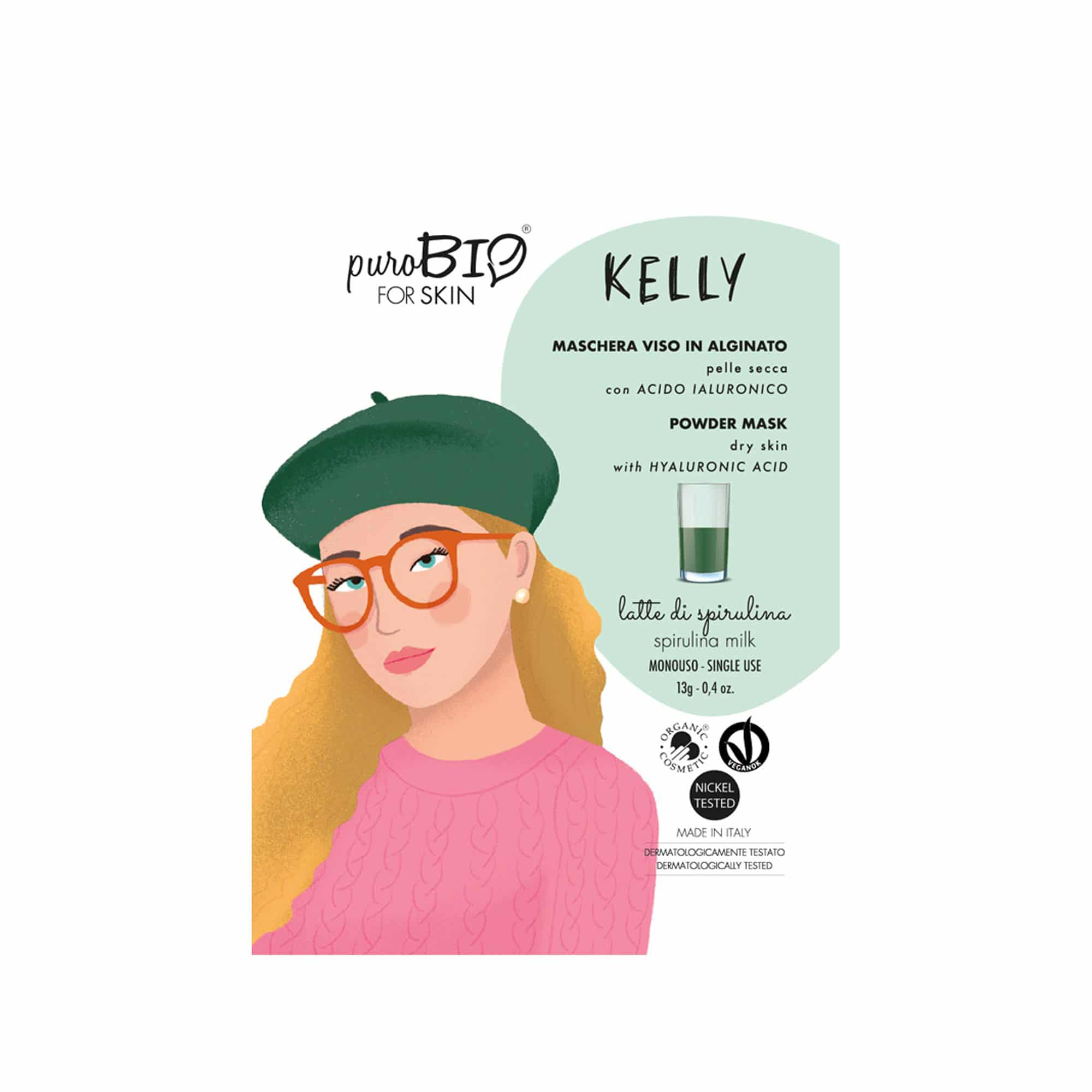 Masque Kelly Peel Off PuroBIO for skin