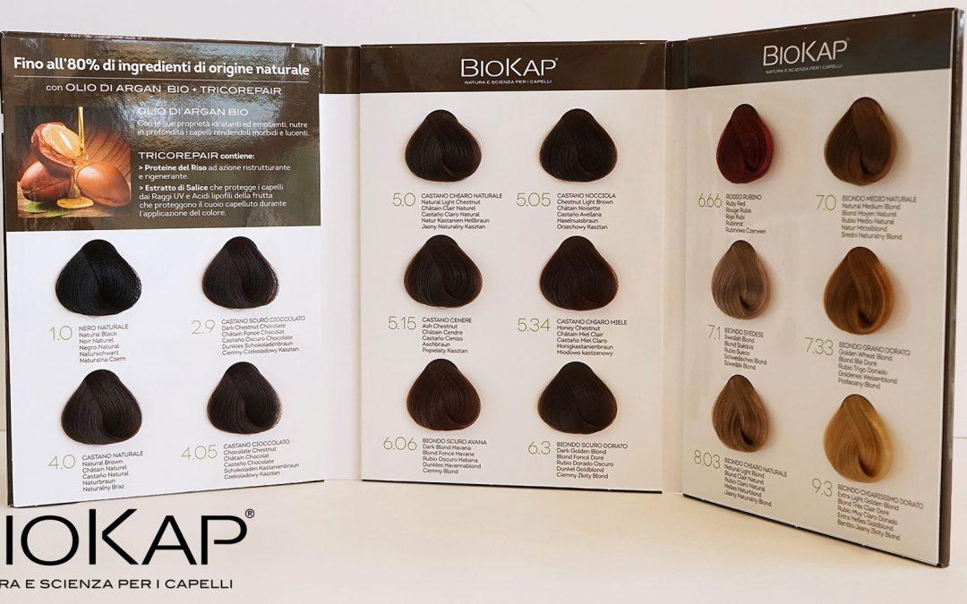 Biokap : nouveautés dans les colorations !