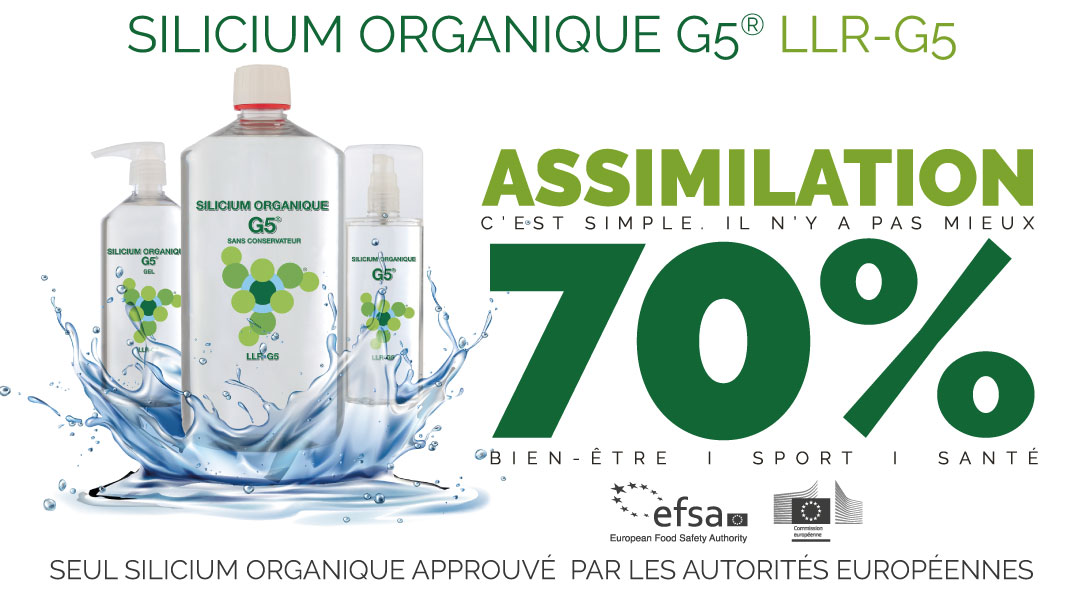 Silicium organique g5® – LLR-G5 : article presse